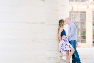Engagement Session at the Dayton Courthouse